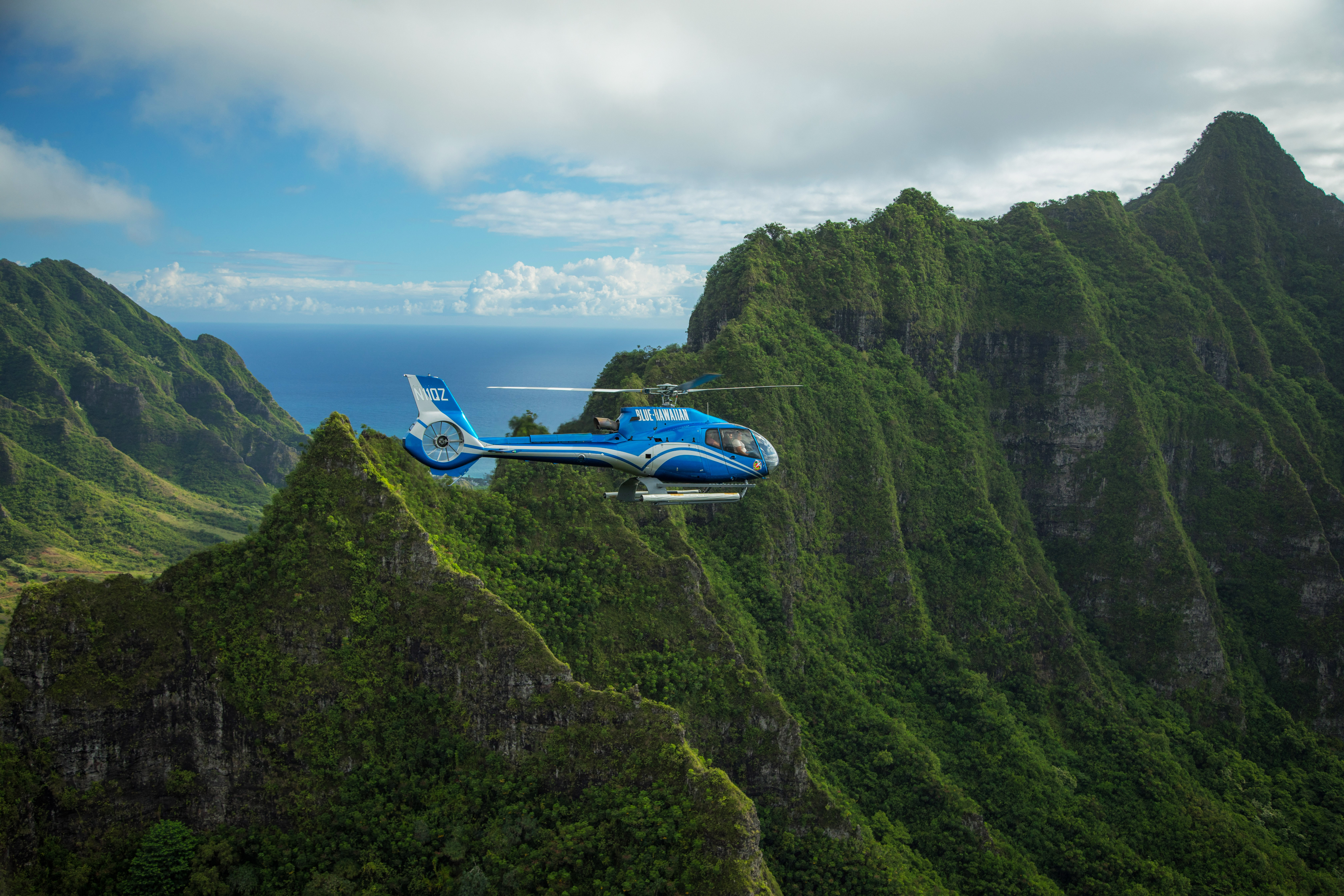 Product Blue Skies of Oahu Helicopter Tour