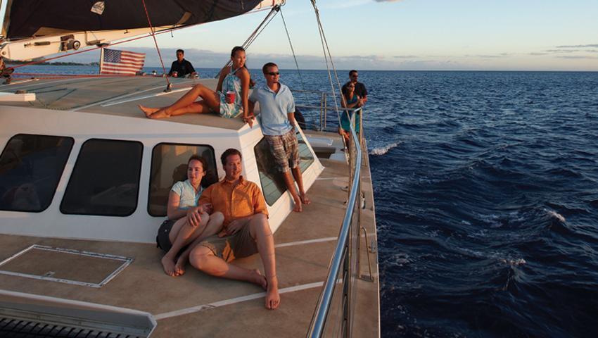 Product Catamaran Sunset Sail
