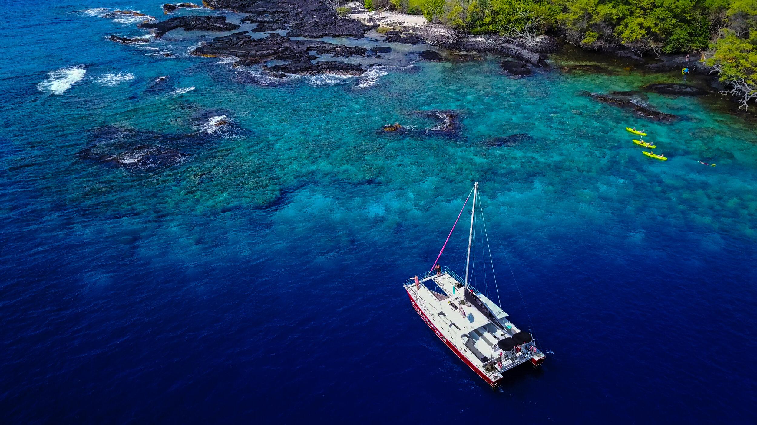 Product Morning Kealakekua Snorkel and Sail